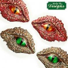 Μάτια Δράκου - Δεινοσαύρου - Καλούπι Σιλικόνης της Katy Sue