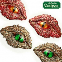 Dragon Eyes Mould by Katy Sue