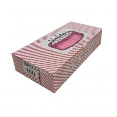 Ροζ Κεράκια γενεθλίων (100τεμ)