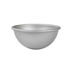 Medium Antistick steel Ball Pan by PME (152 X 76mm / 6 X 3in)