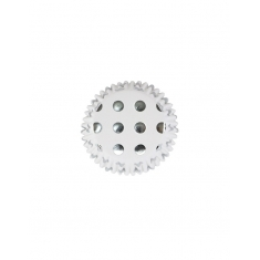 Cupcake Cases Foil Lined - Silver Foil Polka Dots Pk/30