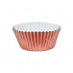 Ροζέ Χρυσό - Αντικολλητικά καραμελόχαρτα αλουμινίου της PME 30τεμ.
