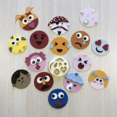 Mix N Match Funny Faces & More Cutter by FMM