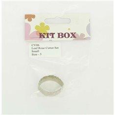 Rose Leaf Inox Cutter Set Size 3
