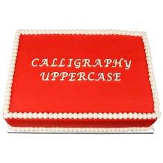 Κεφαλαία Καλλιγραφική Αλφάβητος - Καλούπι της Marvelous Molds - Calligraphy Uppercase Flexabet™