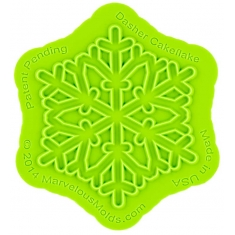 Εκθαμβωτική Χιονονιφάδα - Καλούπι της Marvelous Molds - Dasher Cakeflake™