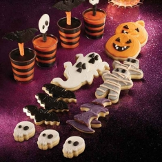 Large halloween cutters set 3pcs Ghost - Mummy - Pumpkin