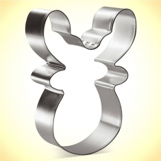 Reindeer Face Cookie Cutter 3.75 in