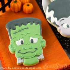 Φρανκεστάιν Τέρας Halloween Μεταλλικό Κουπάτ Μπισκότου 9,5εκ.