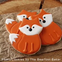 Cute Fox Cookie Cutter 4 in