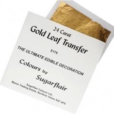 Βρώσιμο Χρυσό Φύλλο 24κ της Sugarflair