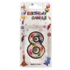 No.8 Colorful Baloon Birthday Candle (Box 12pcs)