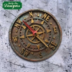 Antique Compass by Katy Sue