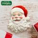 Santa Head Silicone Mould by Katy Sue