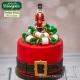 Santa Belt Silicone Mould by Katy Sue