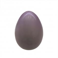 Λιλα-Μωβ Πασχ. Αυγό 300γρ. από Λευκή σοκολάτα Belcolade με Γεύση Βατόμουρο