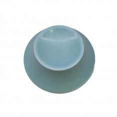 Γαλάζια Βάση 50γρ για Πασχ. Αυγό 300γρ.από Λευκή σοκολ. Belcolade-Γεύση Μύρτιλο