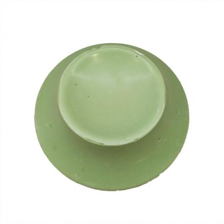 Green 300g Easter Egg Base - White Belcolade Chocolate - Pistachio Flavor 50g