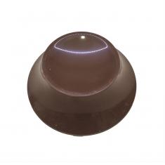 Βάση 50γρ για Πασχ. Αυγό 400-500γρ.από  Βελγική σοκολ. Γάλακτος Belcolade
