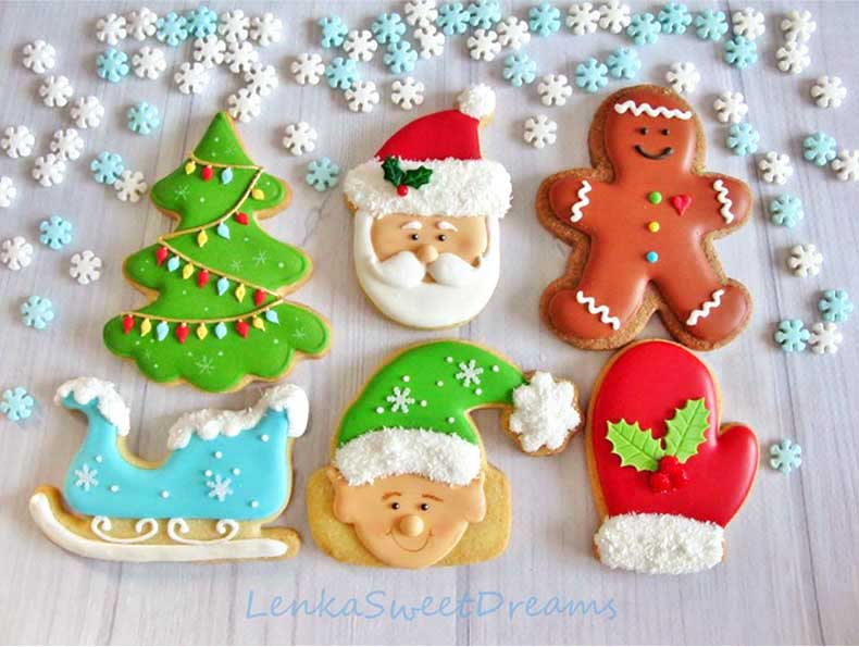 Icing Cookies Decoration Seminar With Christmas Themes