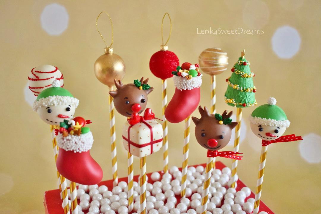 Christmas Cake Pops.Amazing Christmas Cake Pops Seminar